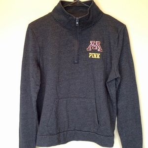 Vs pink Minnesota U of M gophers pullover medium